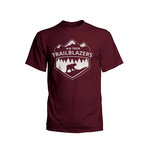 TRAILBLAZERS SHORT SLEEVE TEE - MAROON