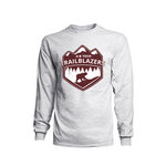 TRAILBLAZERS TEE LS ASH-SMALL