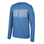 A-B TECH VINTAGE TRI-BLEND LONG SLEEVE TEE - ROYAL