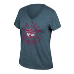 TRAILBLAZERS TRI-BLEND LADIES CUT TEE - NAVY