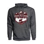 TRAILBLAZERS HOODIE-CHARCOAL GREY-SMALL