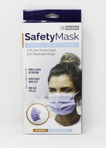 SAFETY MASK-10 PACK DISPOSABLE-NOT FOR MEDICAL USE