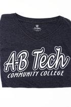 A-B TECH LADIES SS TEE TRIBLEND-NAVY
