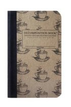 DECOMPOSITION BOOK-4 X 6-COFFEE CUP-LINED