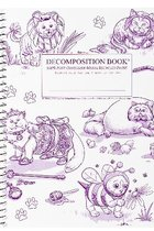DECOMPOSITION NOTEBOOK-COSTUME CATS-LINED