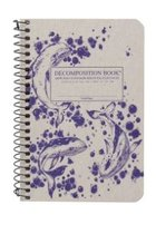 DECOMPOSITION NOTEBOOK-4 X 6-HUMPBACK WHALES-LINED