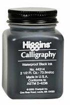 HIGGINS BLACK CALLIGRAPHY INK