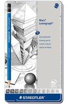 PENCILS MARS LUMOGRAPH SET OF 12 DESIGN/DRAFTING